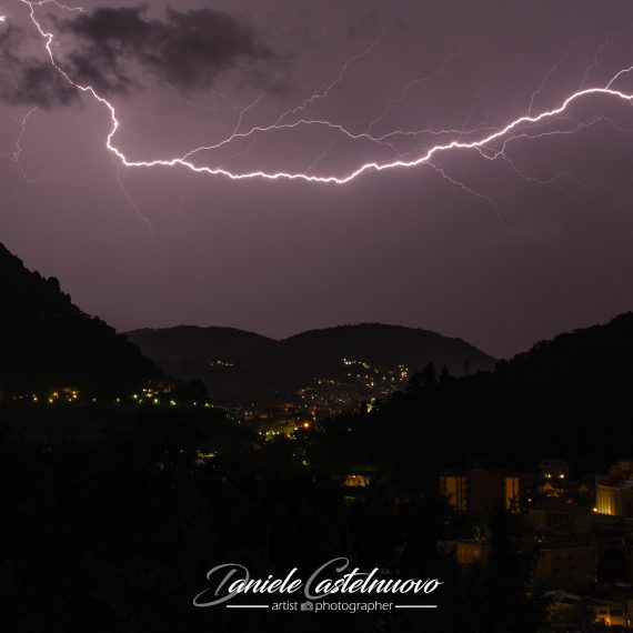Lighting in summer storm – Cernobbio (CO)